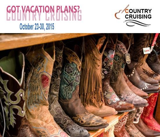 Cowboy Boots, Cowgirl Boots, The BEST Country Cruise Ever 2015