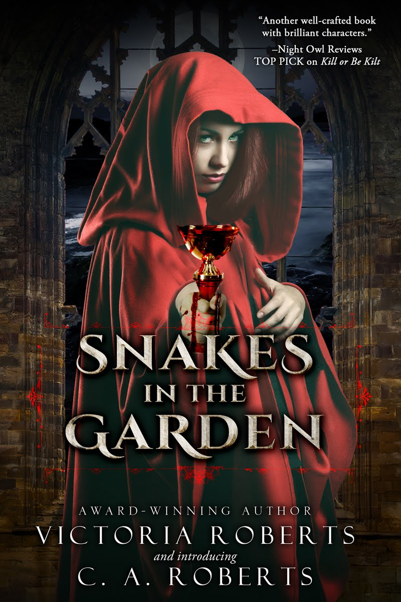 Snakes in the Garden ~ Mother/Daughter Project