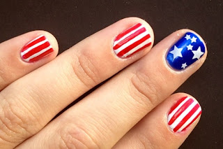 Make your nails cheer for team usa the style ref the fashion tsr gathered the top team usa manicures to take your patriotism to the next level so browse these designs and get your nails ready to shine in time for the prinsesfo Choice Image
