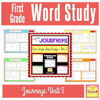 JOURNEYS First Grade Word Study