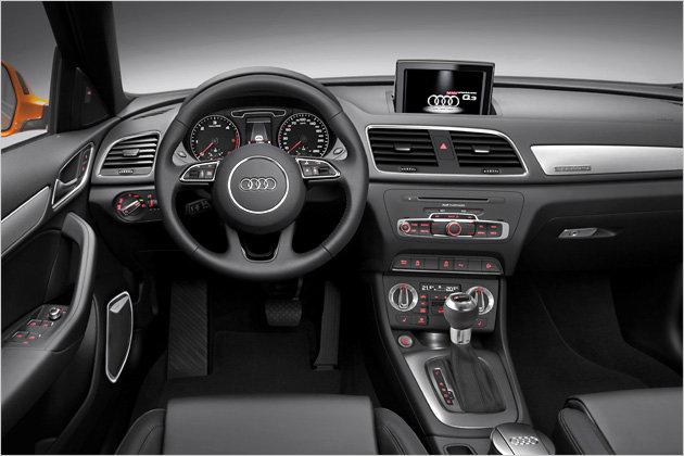 2012 Audi Q3 SUV Interior