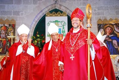 Caribbean catholic bishop jason gordon of barbados - St joseph convent port of spain trinidad ...