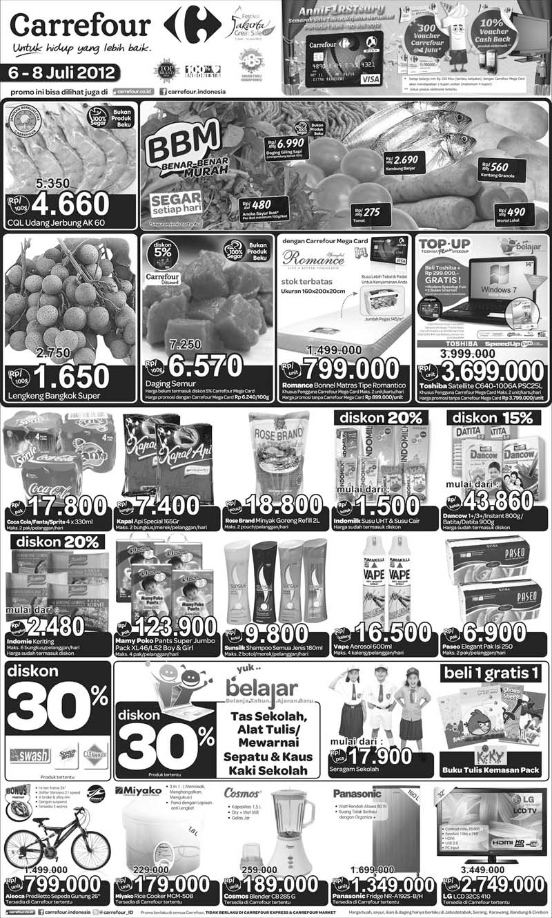 katalog carrefour 6-8 july 2012