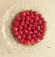 Tarte fraises et pistache - Christophe Michalak
