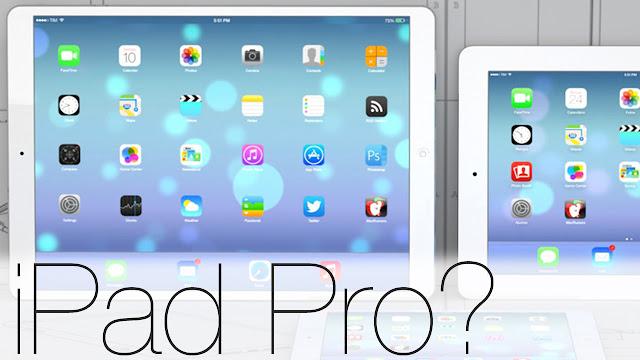 Existem rumores de que Apple vai lançar iPad Pro