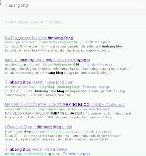 timbang blog