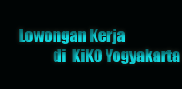Lowongan Kerja di KiKO Yogyakarta,lowker info,info lowker terbaru,informasi lowongan pekerjaan,informasi lowongan,HRD MANAGER,MARKETING,CREW