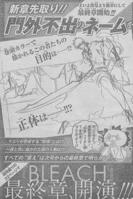 bleach manga anime arco argumental final