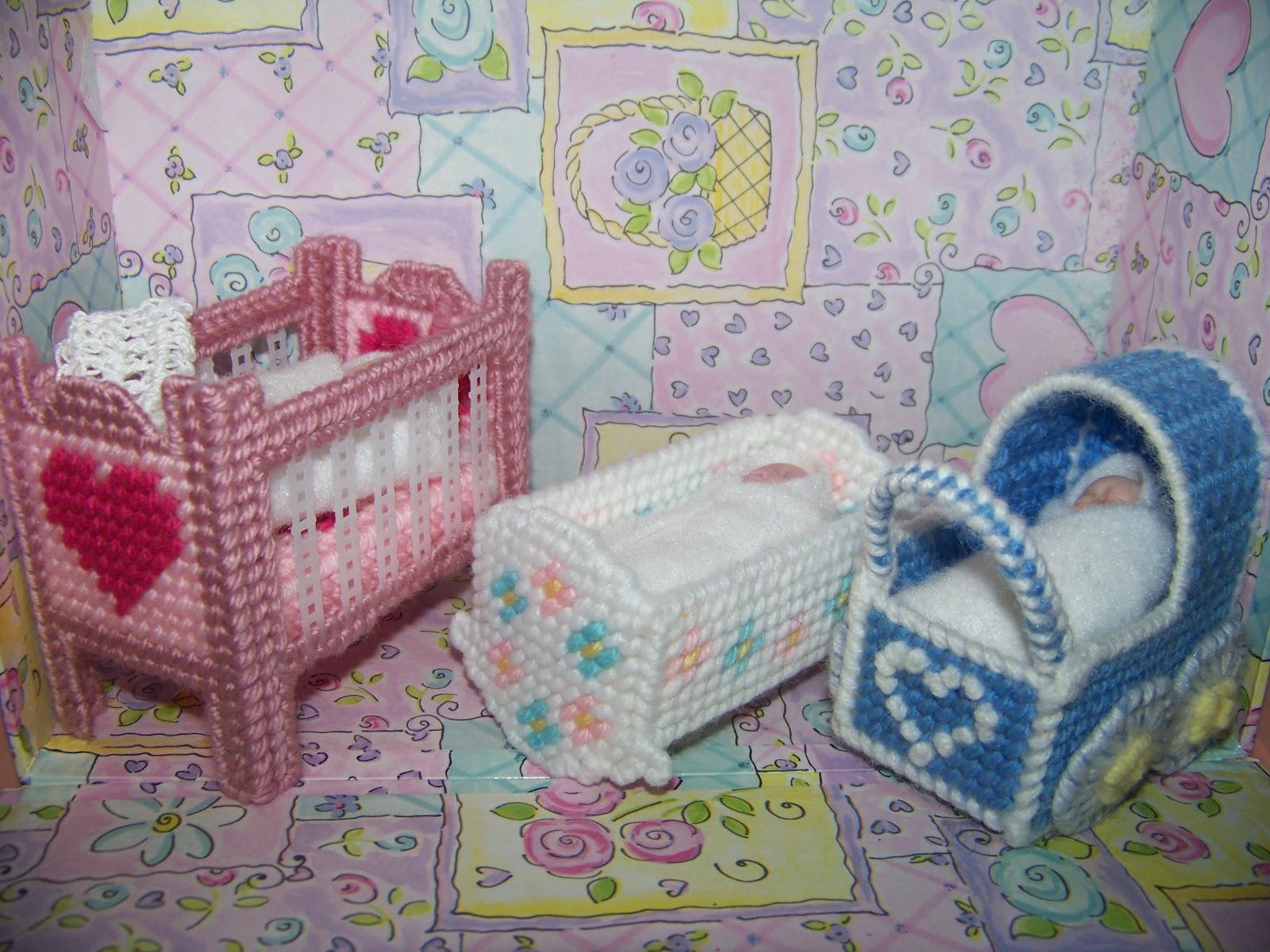 Plastic canvas fashion doll furniture patterns 8