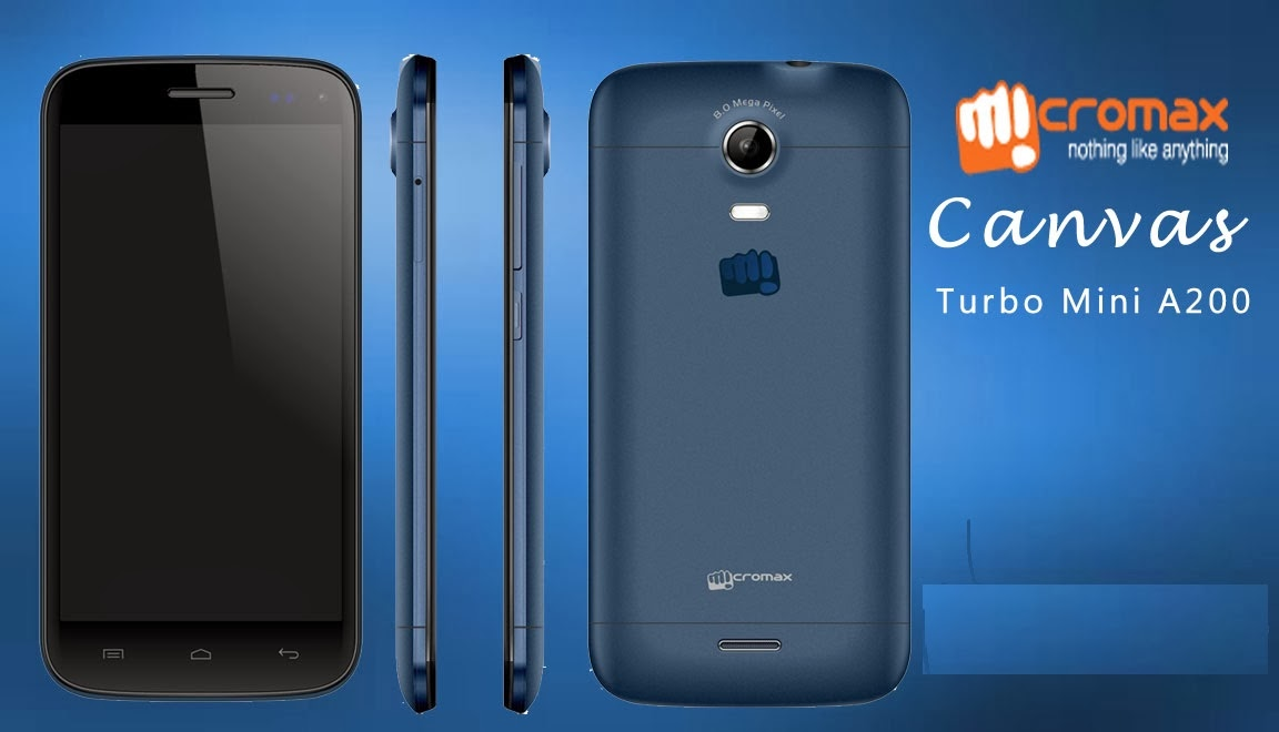 micromax a200 canvas turbo mini specification and latest