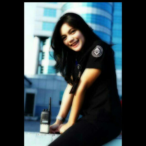 5 Foto Rini Feblita, Si Cantik Imut Crew TRANS TV