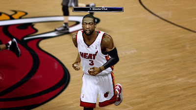 NBA 2K14 Dwyane Wade Face Texture Patch