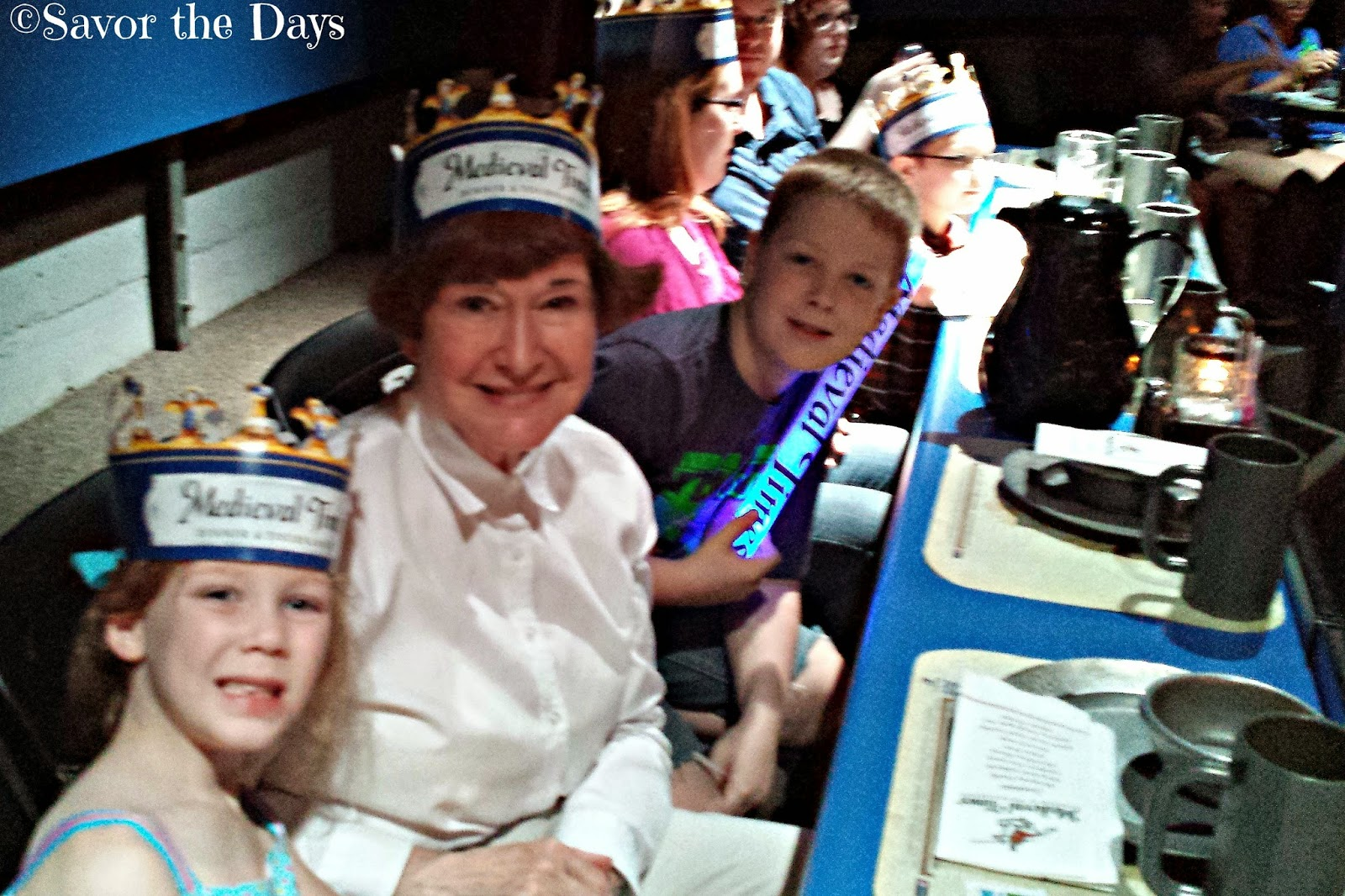 Crowns at Dallas Medieval Times