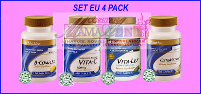 Set Milk Booster Shaklee