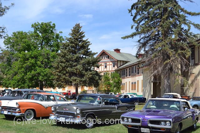The old Tranquille Sanatorium has visits from Vintage Car Club.