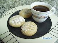 Receta de galletas de moka-nuez