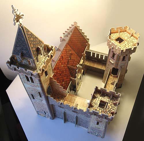 Как сделать средневековый замок