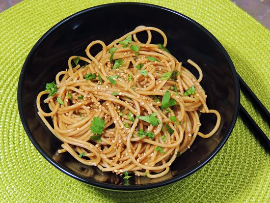 Bobbi's Kozy Kitchen: Cold Sesame Noodles #SecretRecipeClub
