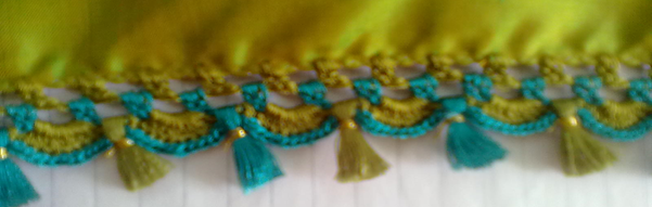 Krosha Designs : ... 2014 - Find how to make saree krosha kuchu work in Bangalore at