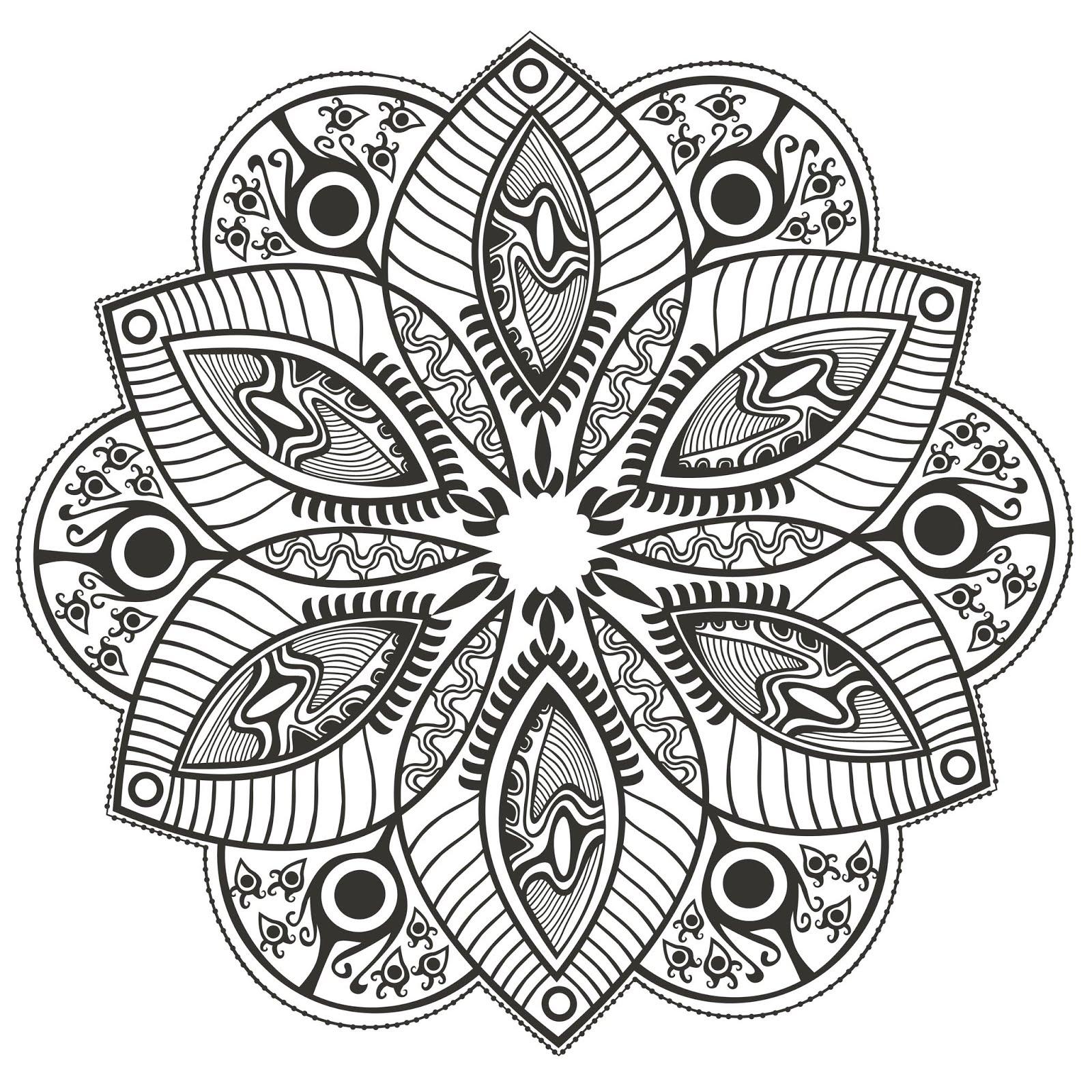 belum nyobain mewarnai pola mandala ini Selama ini saya lebih tertarik ke objek objek yang dekat di kehidupan sehari hari seperti bunga bunga