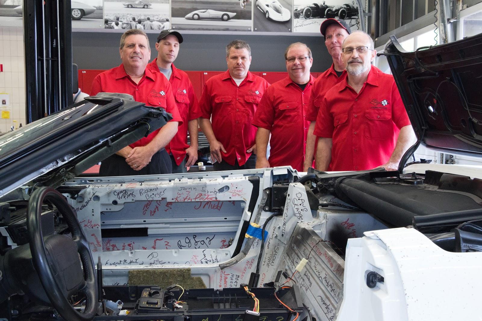 Sinkhole swallowed 1 millionth corvette restoration underway