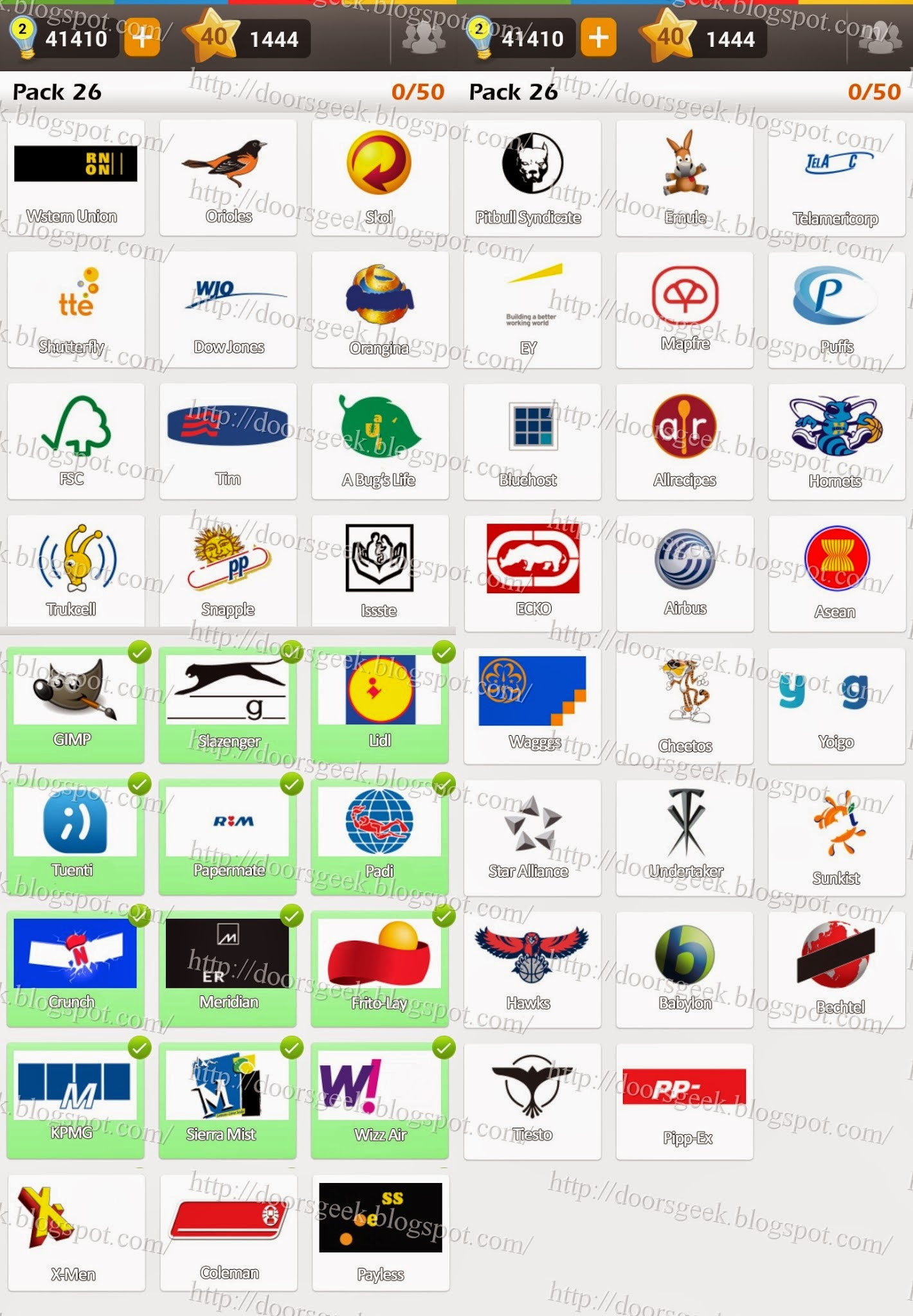 Logo game guess the brand bonus cars chainimage - Answers In Pack 26 Are