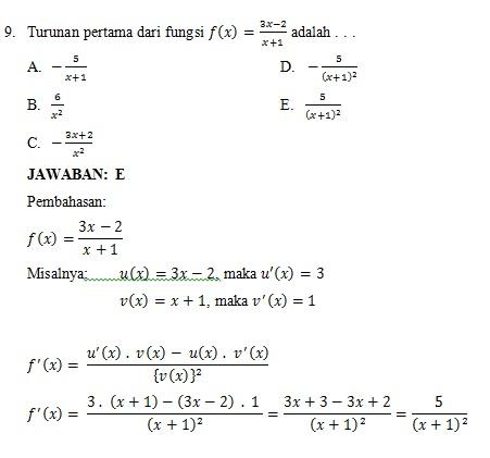 Soal Soal Semua Pelajaran Untuk Sd Dan Pembahasan Pembahasan Soal Un Matematika Sd Shev S Blog