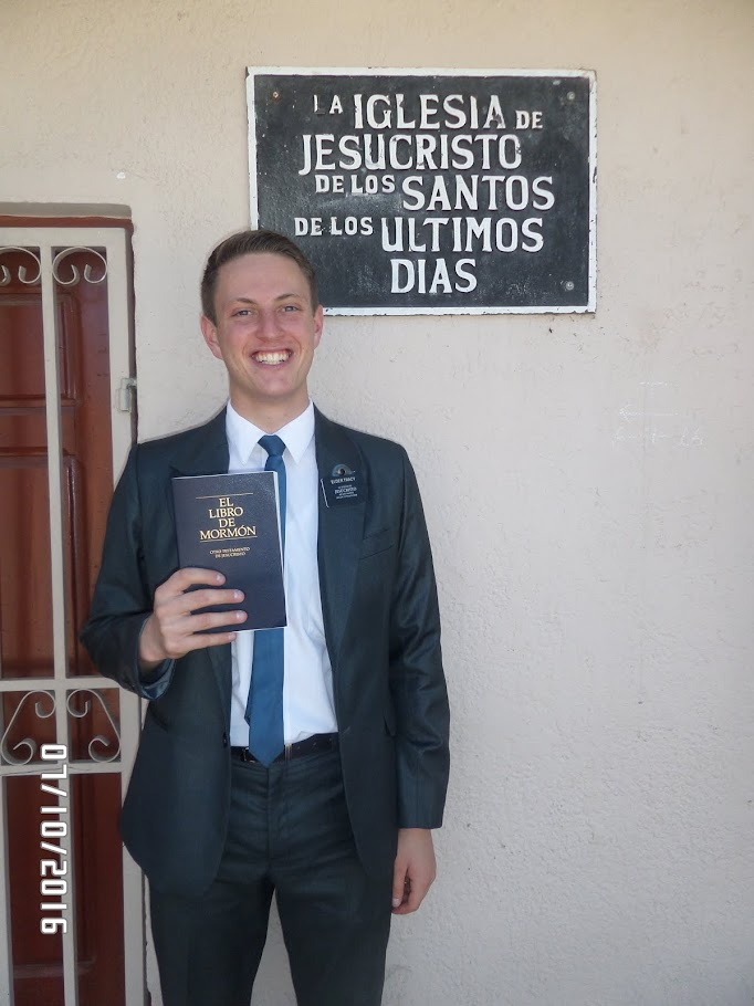 ELDER JONATHAN TRACY'S BOLIVIAN MISSION BLOG