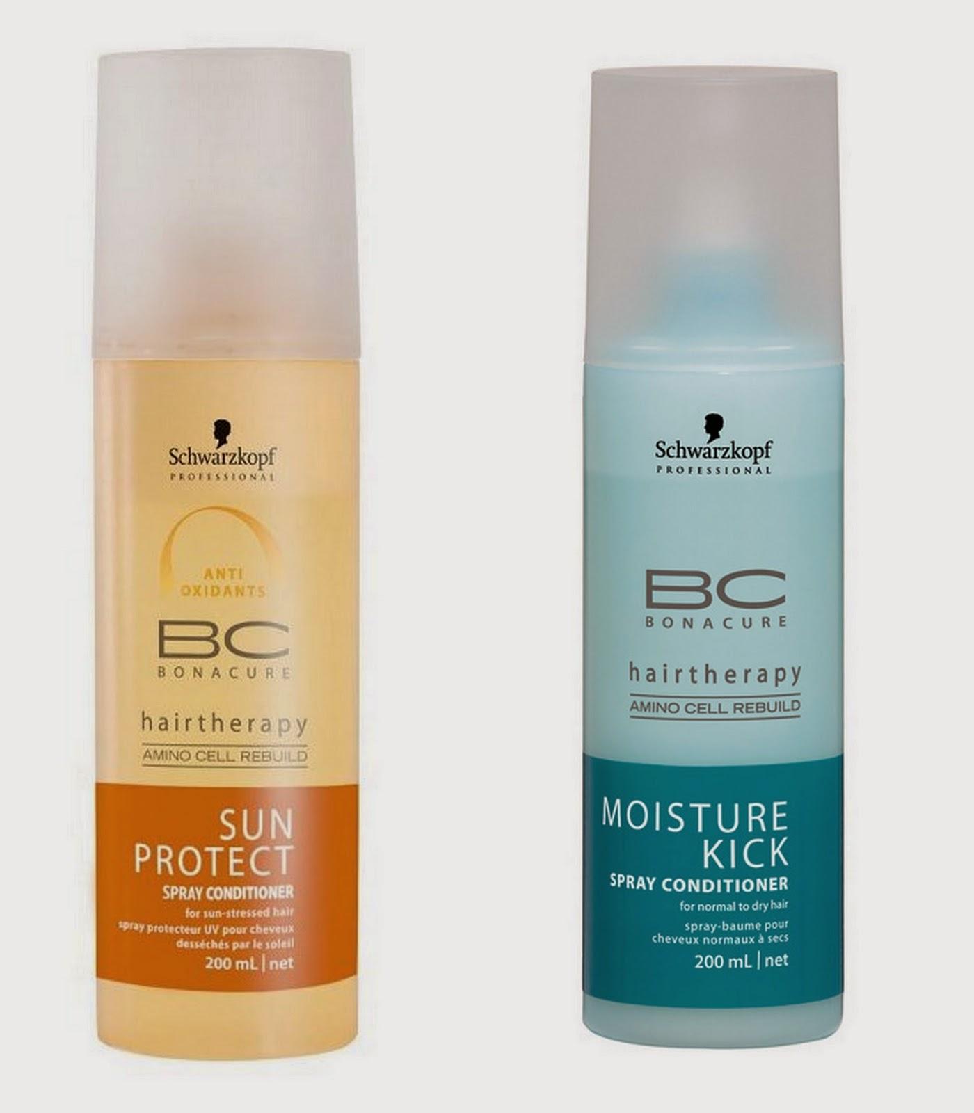 BONACURE Moisture Kick и BONACURE Sun Protect