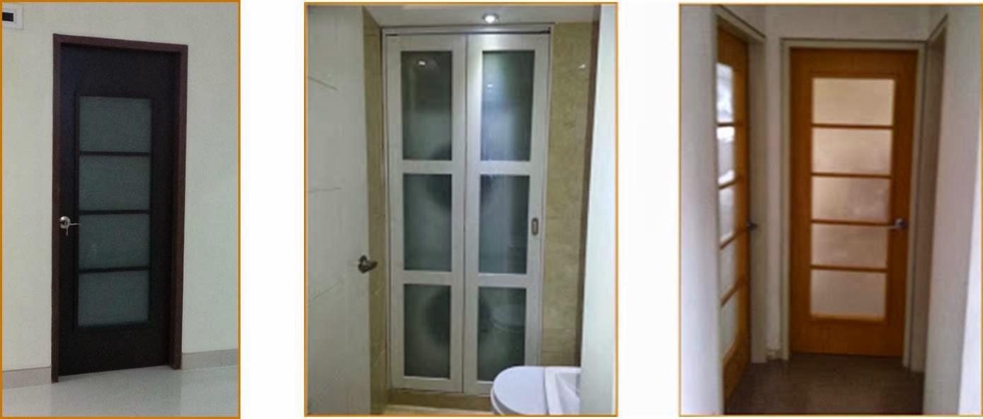 Portafolio Puertas de madera interiores minimalistas