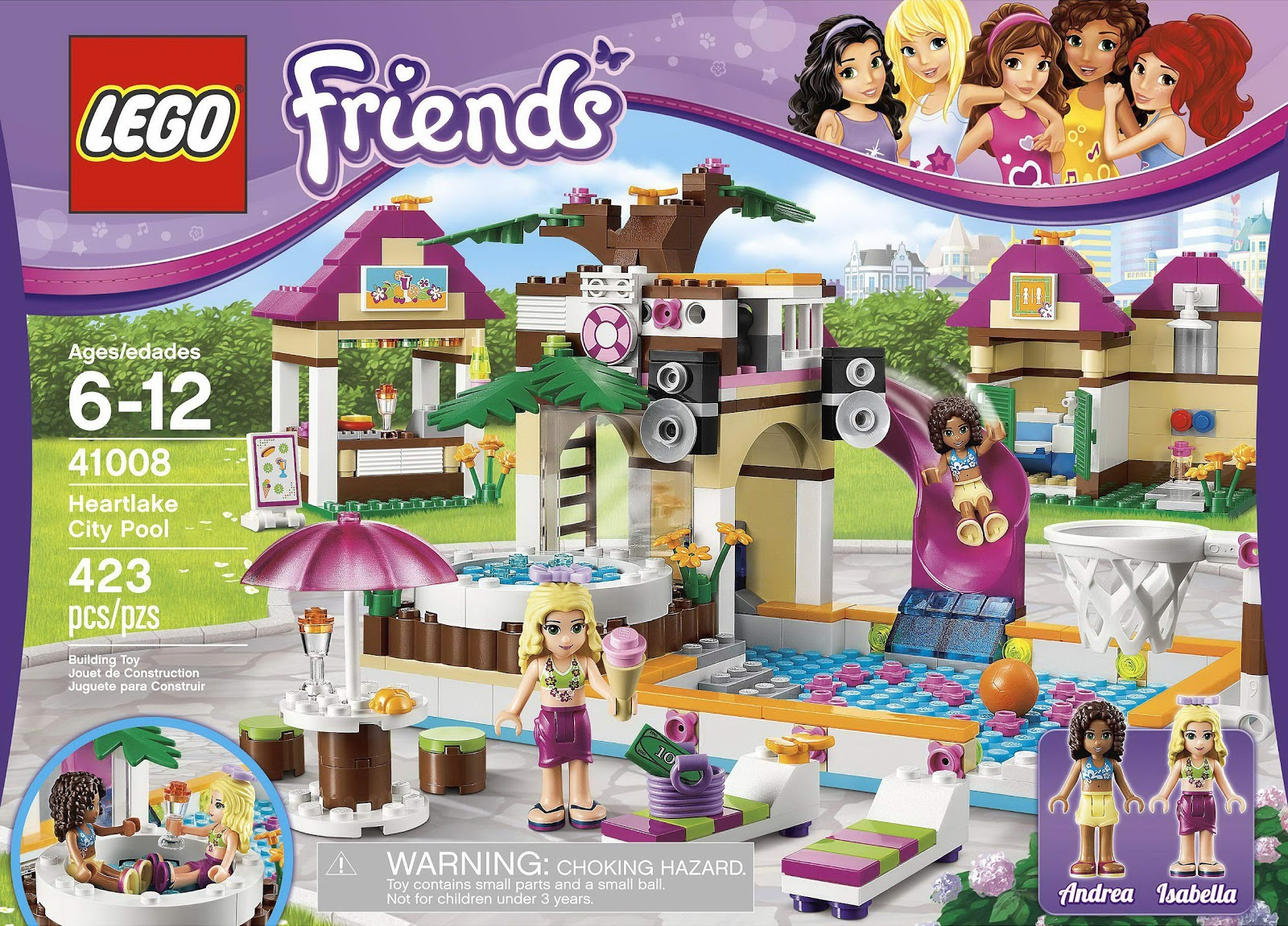 Brick Friends: LEGO 41008 Heartlake City Pool