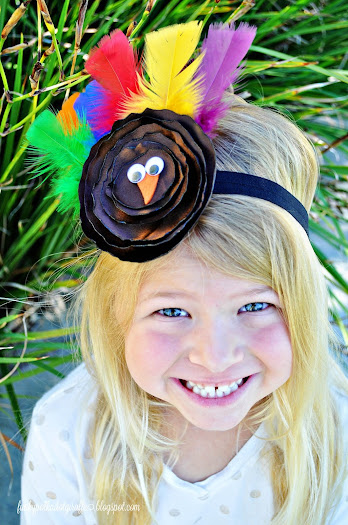turkey headband tutorial