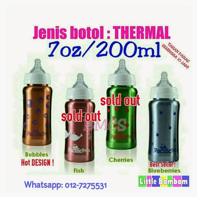 Botol Susu Besi kini dijual di Little Bambam