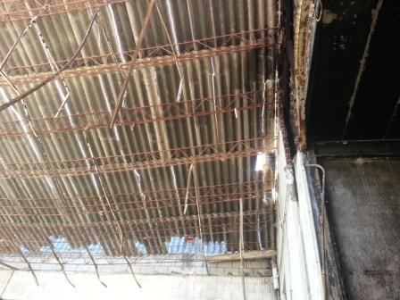 Instalamos panel s ndwich instaladores panel s ndwich madrid - Tejados de uralita ...