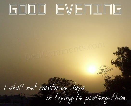 how to say good evening in tagalog