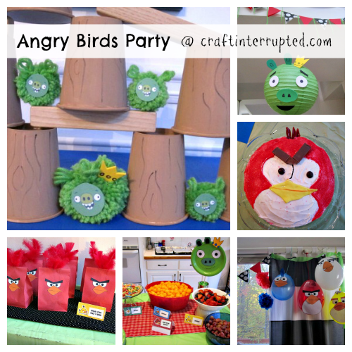Angry birds party supplies angry bird birthday party for Angry birds party decoration ideas