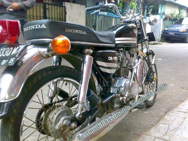 Modifikasi Honda GL 100 1989 | Modif Honda CB 125 title=