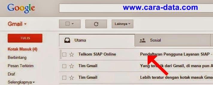 Buka Kotak Masuk Gmail