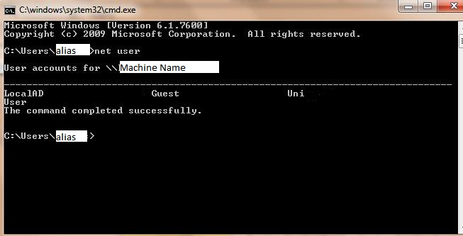 windows 8.1 cmd admin