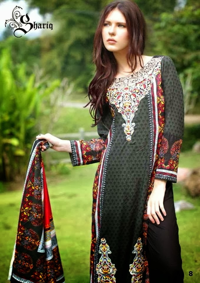 Shariq Textiles+Latest+Female+Khadder+Dress+Collection+In+2013 14006