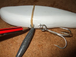 lure making - my first attempt | how to make fishing lures, Hard Baits
