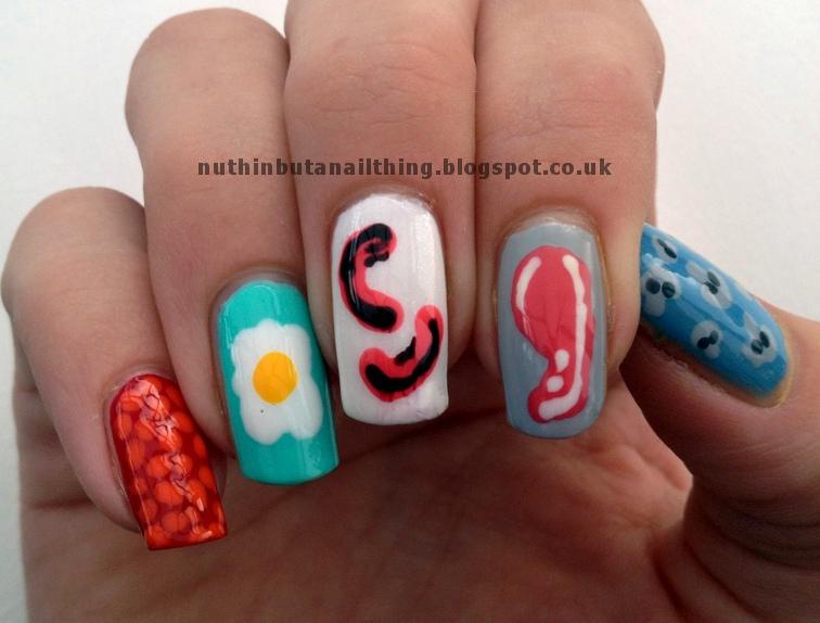 Nuthin But A Nail Thing British Sausage Week Nails