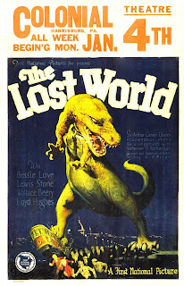 1925 : Cartel Original de la película : El mundo perdido (The Lost World)