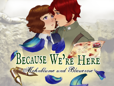 because we're here mohnblume and blauerose visual novel review