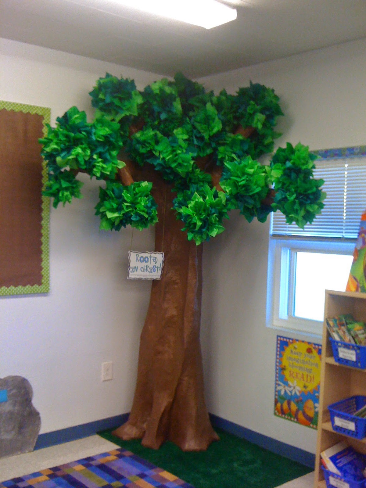 Classroom Tree Ideas ~ Dodd it up diy tree