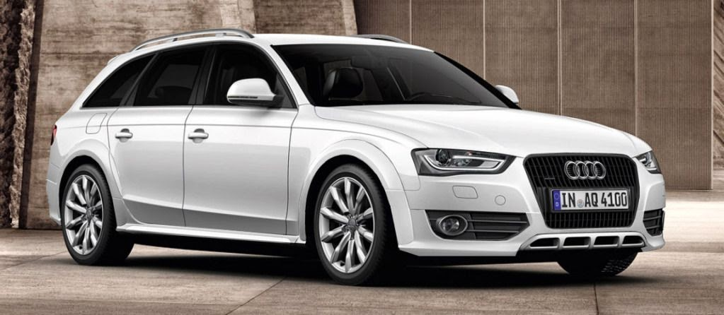 Audi A4 Exterior View