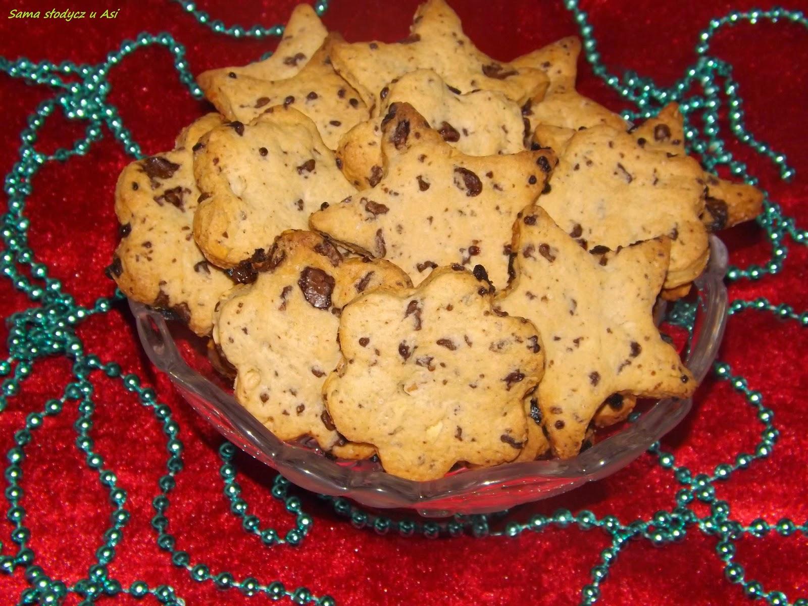 Ciasteczka czekoladowo - imbirowe