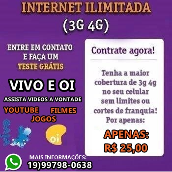 INTERNET ILIMITADA VPN DIGA ADEUS AS FRANQUIAS