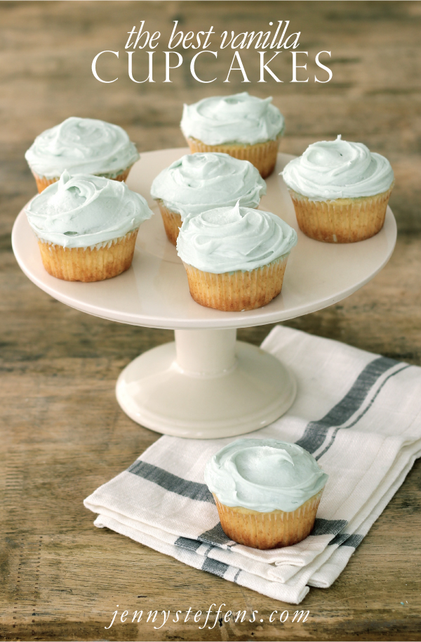 ... Steffens Hobick: The Best Vanilla Cupcakes with Vanilla Buttercream
