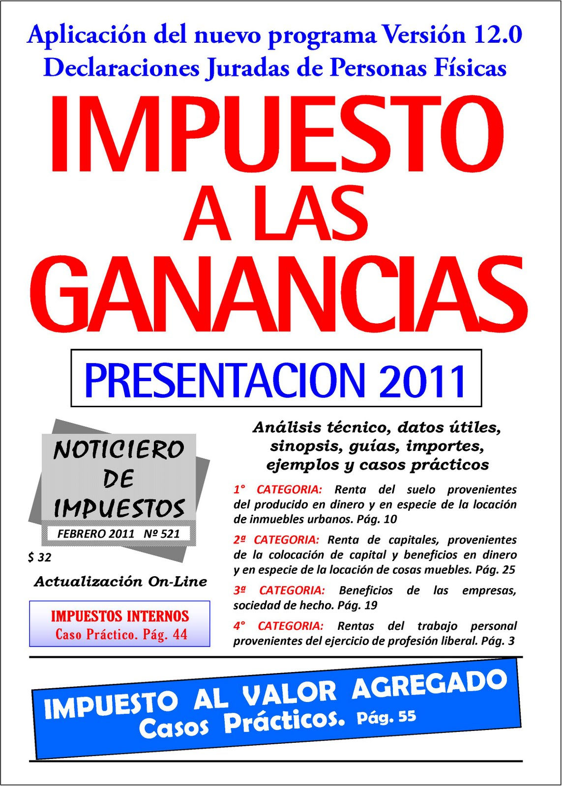 Impuesto A Las Ganancias 2016   News and Events Broadcast 2016